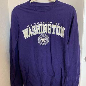 University of Washington long sleeve